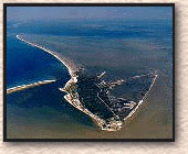 image of Dauphin Island from the air